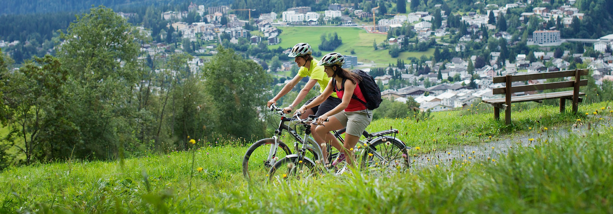 Bikeferien Flims in Aktion