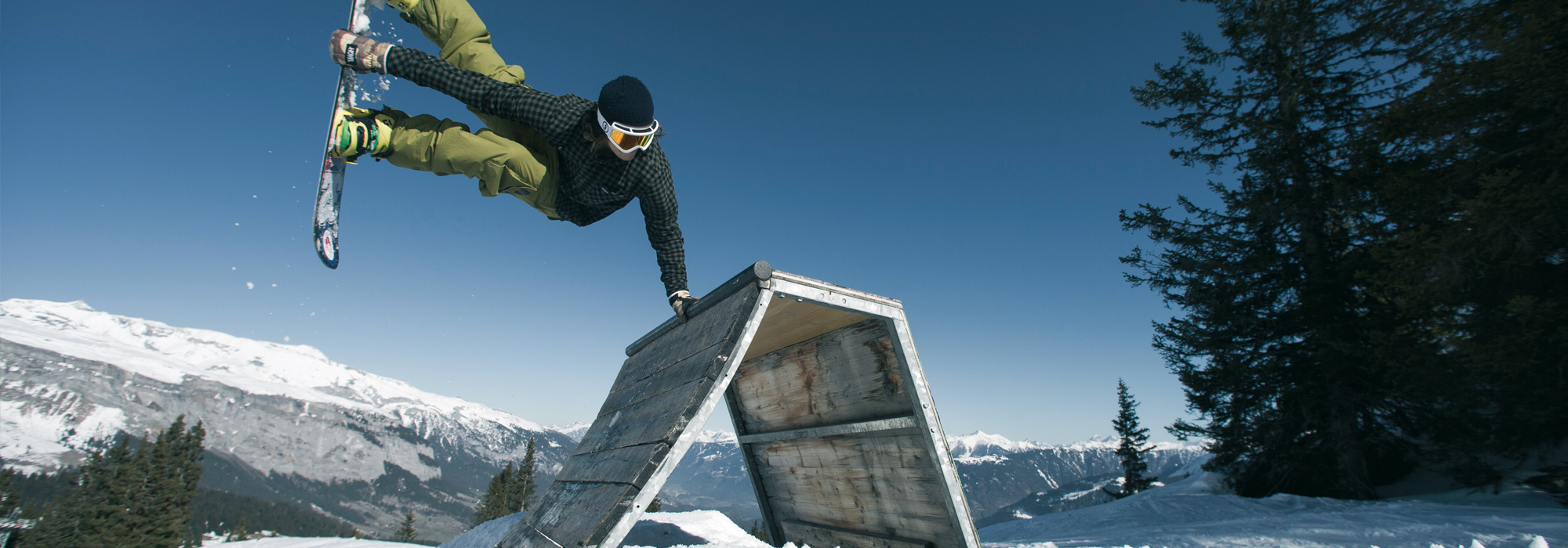 Skiferien Laax/Flims Freestyle Snowboard