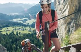 Sport Spass Klettersteig