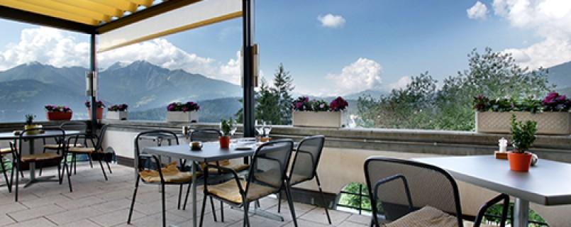 Aussicht in Graubünden