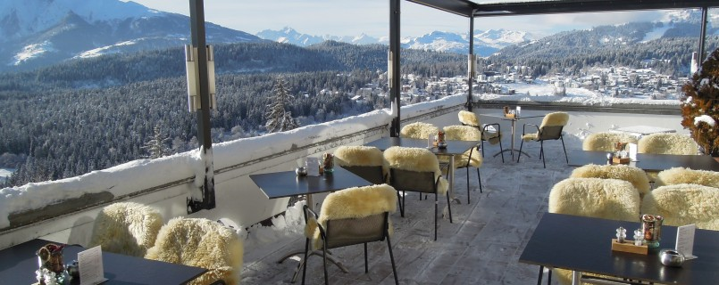 View from Flims Laax