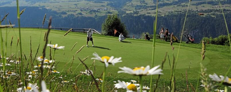 Golf in Flims Laax Brigels