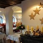 Weihnachtsdeko in Flims Laax Falera
