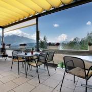 Hotel FidazerHof Terrasse