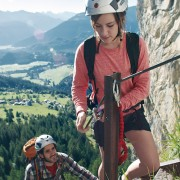 Hiking and climbing in Flims
