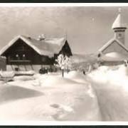Hotel FidazerHof vor langer Zeit im Winter